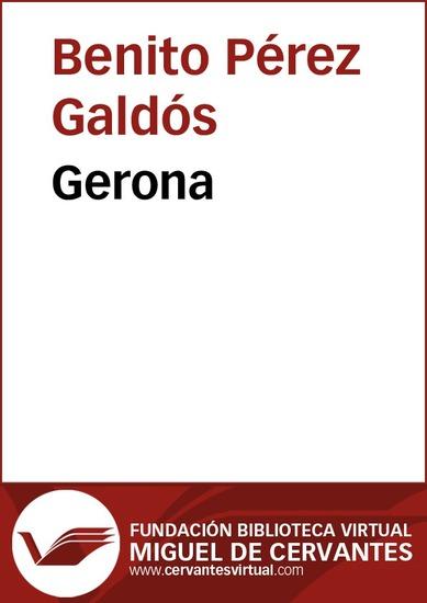 Gerona - cover