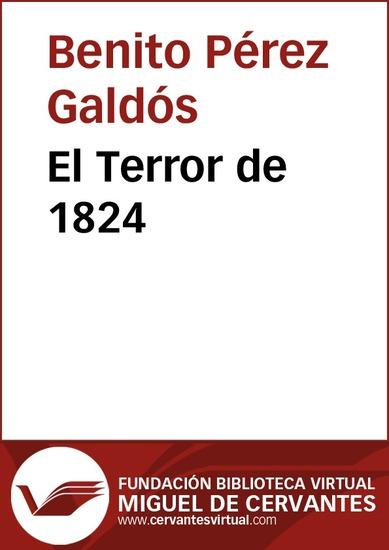 El Terror de 1824 - cover