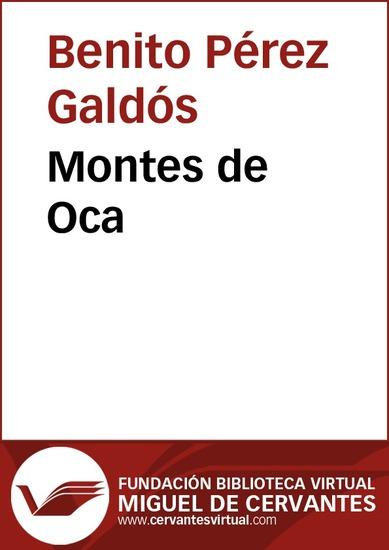 Montes de Oca - cover