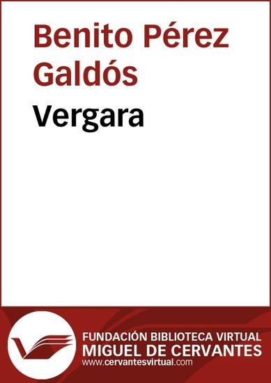 Vergara - cover