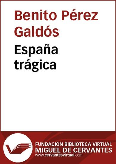España trágica - cover