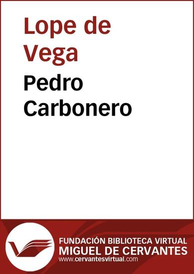 Pedro Carbonero - cover