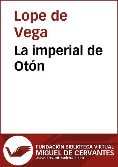 La imperial de Otón - cover