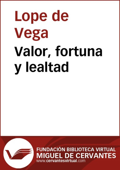 Valor fortuna y lealtad - cover