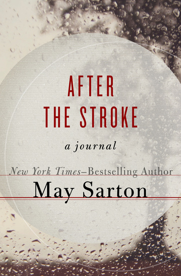 After the Stroke - A Journal - cover