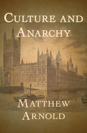 Culture and Anarchy - cover