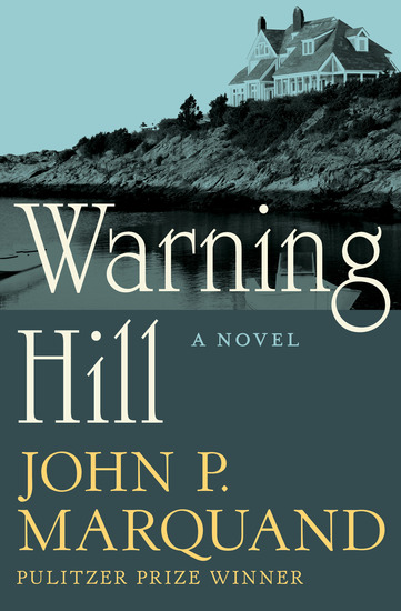 Warning Hill - A Novel - cover