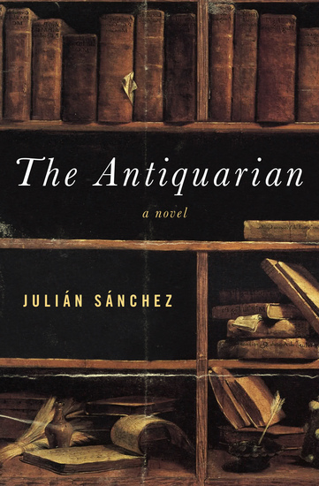 The Antiquarian - A Novel - cover