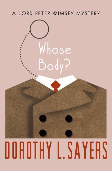Whose Body? - cover
