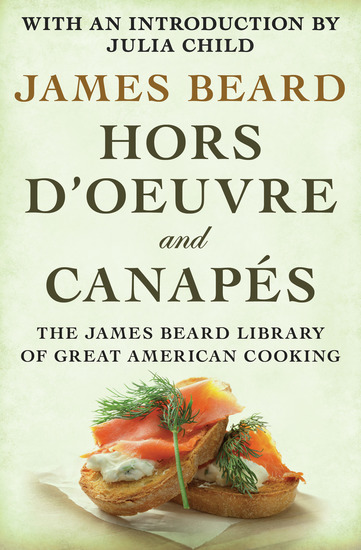 Hors d'Oeuvre and Canapés - cover