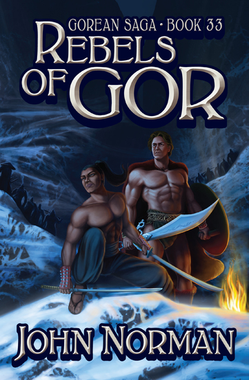 Rebels of Gor - cover