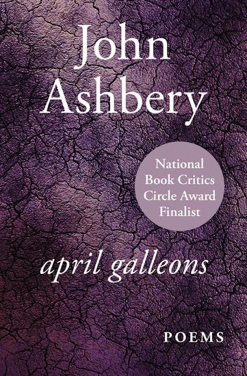 April Galleons - Poems - cover