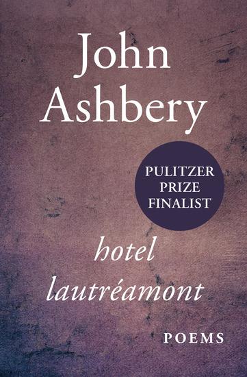 Hotel Lautréamont - Poems - cover