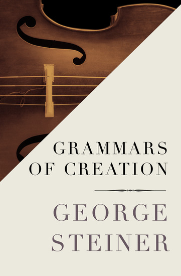 Grammars of Creation - cover
