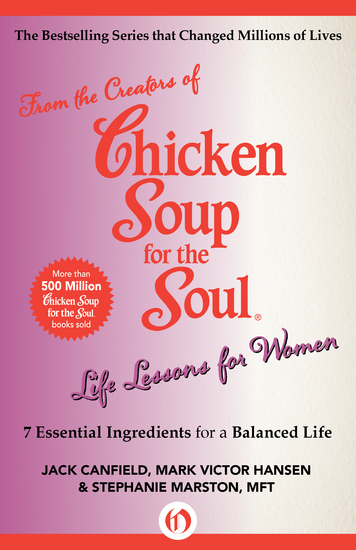 Life Lessons for Women - 7 Essential Ingredients for a Balanced Life - cover