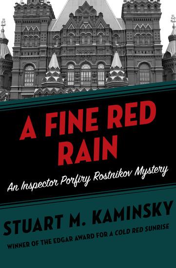 A Fine Red Rain - cover