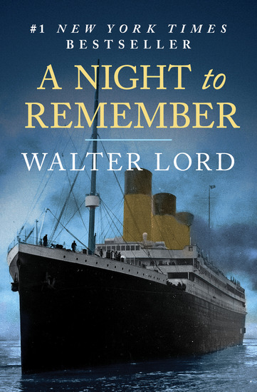 A Night to Remember - The Sinking of the Titanic - cover