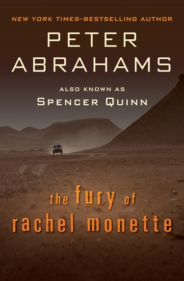 The Fury of Rachel Monette - cover