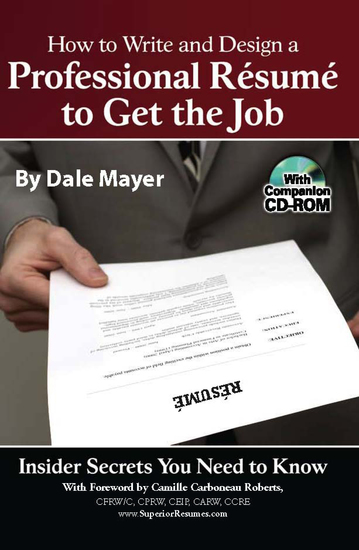 how to write and design a professional resume to get the