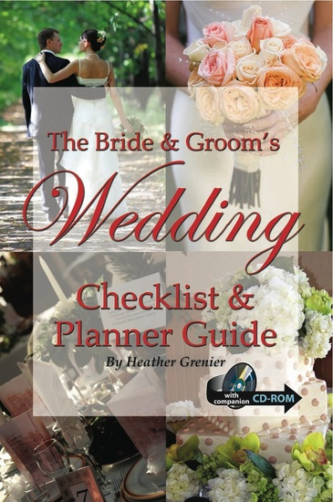 The Bride & Groom's Wedding Checklist & Planner Guide - cover