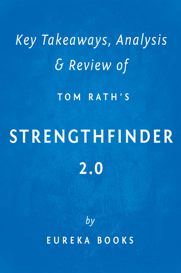 StrengthsFinder 20 by Tom Rath | Key Takeaways Analysis & Review - cover