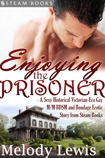 Enjoying the Prisoner - A Sexy Historical Victorian-Era Gay M M BDSM and Bondage Erotic Story from Steam Books - cover