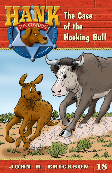 The Case of the Hooking Bull - cover