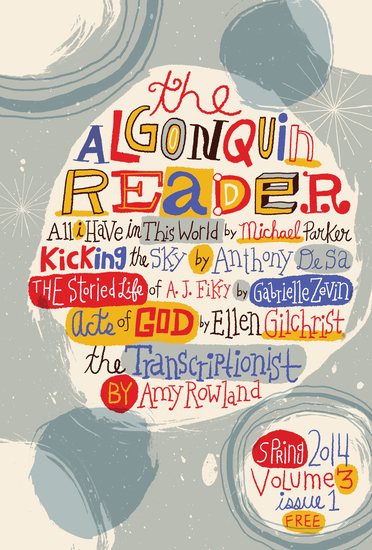 The Algonquin Reader - Spring 2014 - cover
