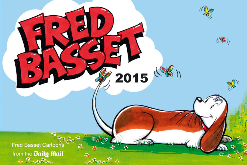 Fred Basset Yearbook 2015 - cover
