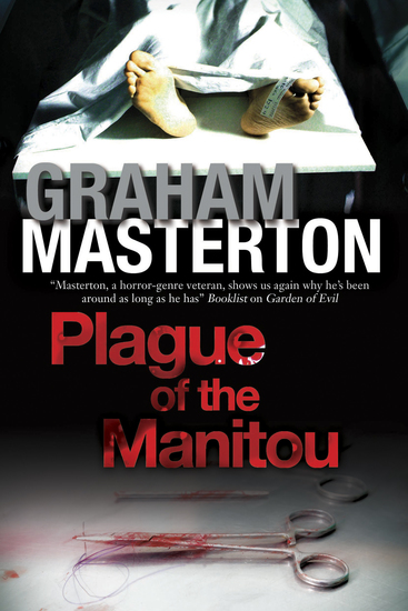 Plague of the Manitou - A 'Manitou' Horror Novel - cover
