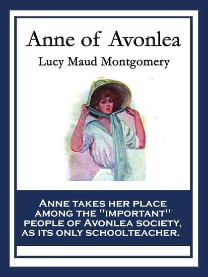 Anne of Avonlea - With linked Table of Contents - cover