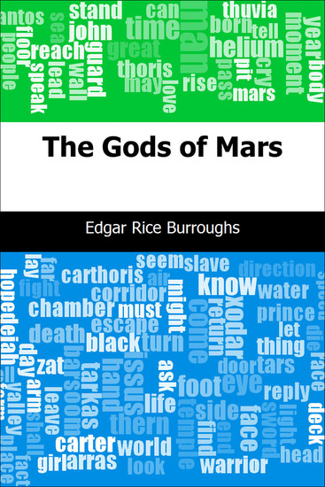The Gods of Mars - cover