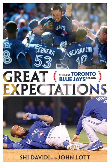 Great Expectations - The Lost Toronto Blue Jays Season - cover