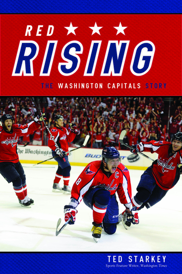 Red Rising - The Washington Capitals Story - cover