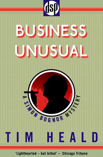 Business Unusual - A Simon Bognor Mystery - cover