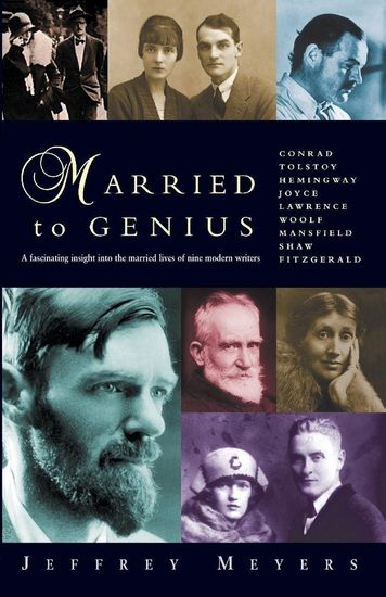 Married to Genius - A fascinating insight into the married lives of nine modern writers - cover