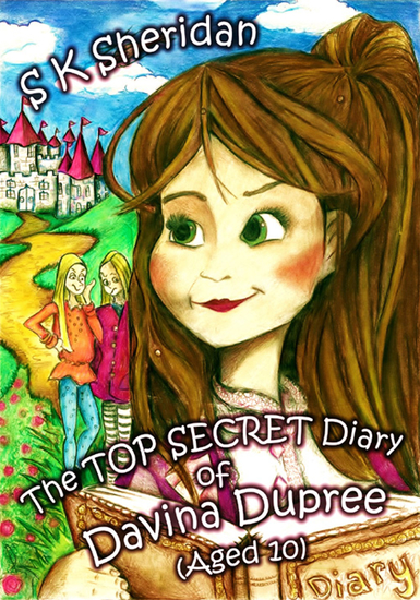 The Top Secret Diary of Davina Dupree (Aged 10) - cover