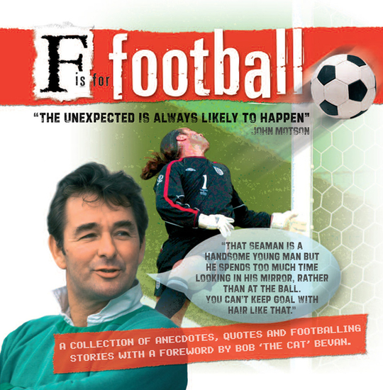 F is for Fooball - cover