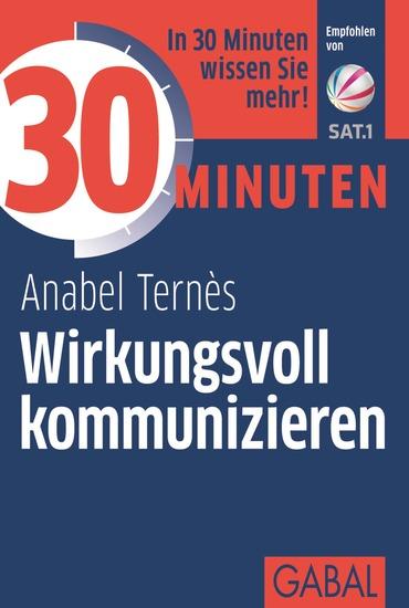 30 Minuten Wirkungsvoll kommunizieren - cover
