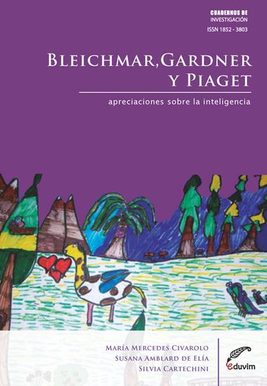 Bleichmar, Gardner y Piaget - Apreciaciones sobre la inteligencia - cover