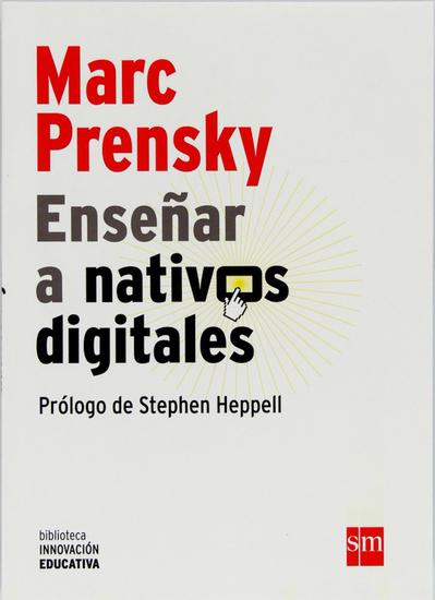 Enseñar a nativos digitales - cover