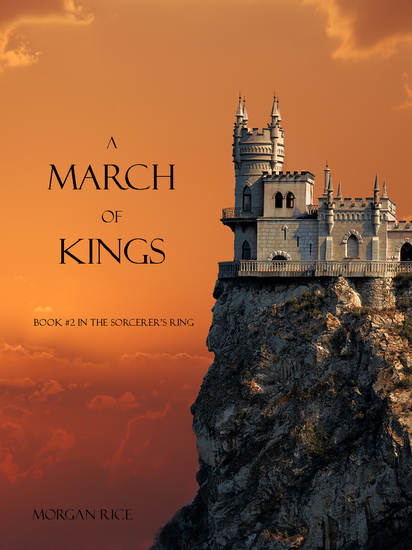 A March of Kings (Book #2 in the Sorcerer's Ring) - cover