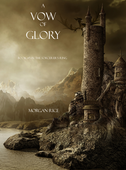 A Vow of Glory (Book #5 in the Sorcerer's Ring) - cover