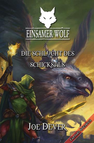 Einsamer Wolf 04 - Die Schlucht des Schicksals - cover