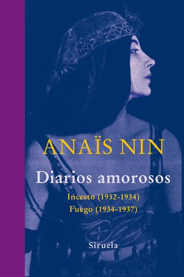 Diarios amorosos - Incesto (1932-1934) Fuego (1934-1937) - cover