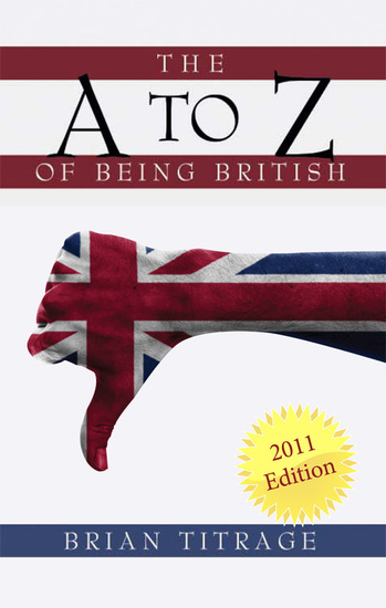 The A Z of Being British - cover