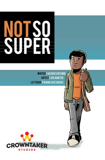 Not So Super Vol 1 - cover