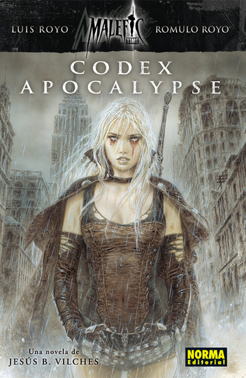 Malefic Time: Codex Apocalypse - cover