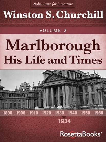 Marlborough: His Life and Times Volume I - cover