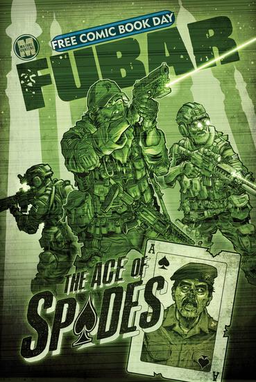 FUBAR: FCBD Edition: Aces of Spades - cover